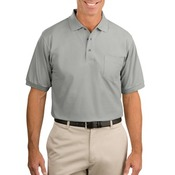 Traditional Pique Polo with Pocket