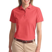 Ladies Traditional Pique Polo
